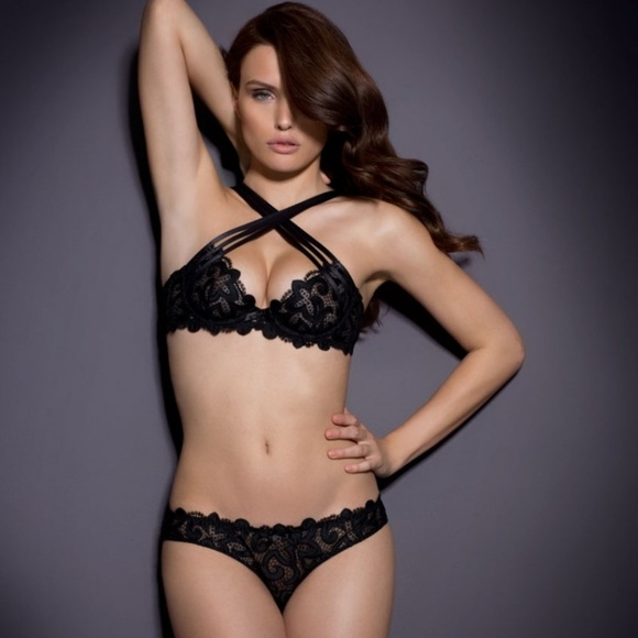 61ab9e199b Agent Provocateur Soiree RAIVE Bra Brief NWT Black